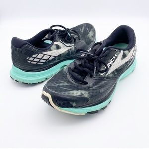 Brooks Launch 3 Athletic Running Shoes Size 8 Gray